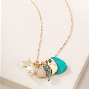 Stella & Dot - Beachcomber Charm Necklace